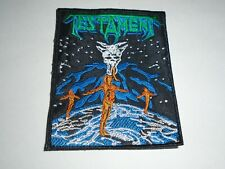 TESTAMENT DARK ROOTS OF THRASH EMBROIDERED PATCH