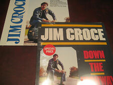 JIM CROCE DOUBLE LP SET ORIGINAL FACTORY SEALED TITLES FROM THE 1980'S ALL HITS