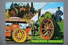 R&L Modern Postcard: 1980's Traction Steam Engine, J Salmon