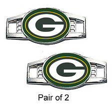 Green Bay Packers Shoe Charms / Paracord Charms