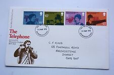 Great Britain First Day Cover The Telephone 1976