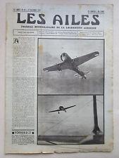 AILES 1936 811 FOKKER D-21 PZL 23/43 HANRIOT 192 CALIFORNIA MOTEUR URSS BALLON
