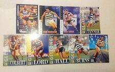 1996 AFL SELECT SERIES 2 GEELONG CATS TEAM SET 9 CARDS GARY ABLETT