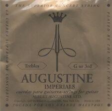 Augustine Corde à l'unité Impérials G or 3RD Guitare Classique Tirant normal
