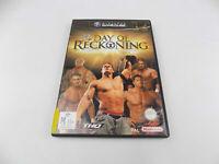 Mint Disc Nintendo Gamecube WWE Day of Reckoning PAL - Free Postage
