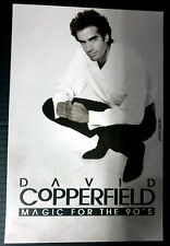 Original David Copperfield Magic For The 90's Flyer