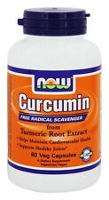 NOW Foods CURCUMIN 665 mg - 60 capsules - SUPPORTS HEART & JOINT HEALTH
