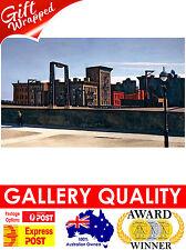 NEW Edward Hopper, The Manhattan Bridge Loop, 1928 Giclee Art Print or Canvas