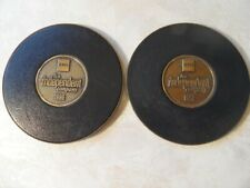 2 EDS Electronic Data Systems Coasters 1996