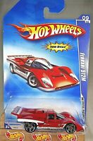 2009 Hot Wheels #95 HW Special Features 9/10 FERRARI 512M Red Variant w/Pr5 Sp