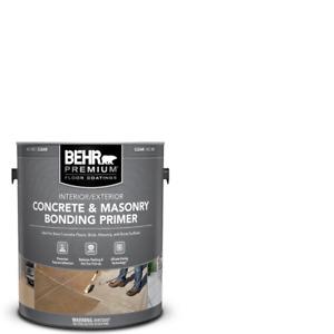 1 Gallon Clear Concrete Masonry Bonding Primer 4 Garage Basement Epoxy Paint