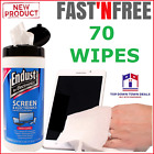 Cleaner LCD LED Laptop Monitor Cleaning 70ct  Electronics Wipes Plasma TV Screen