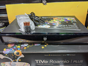 TiVo Roamio Plus with Lifetime All-In Service new remote original box 154 hours