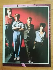 poster 28x20cm ROCK AND FOLK - années 80 - Echo and the bunnymen