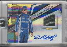 Ricky Stenhouse Jr RS 2018 Panini NASCAR Racing Promo Pack Tire Swatch Auto 2/5