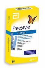 ツ BEST PRICE! ABBOTT FREESTYLE OPTIUM BLOOD GLUCOSE TEST STRIPS 100