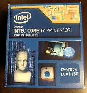 Processore Cpu Intel i7 4790K 4.0ghz Quad Core Boxed - LGA 1150