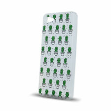 ^ Bunt Muster  Cactus Kaktus Leaves Back Case Schutz Etui LG K10 2017