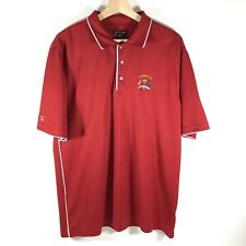 Antigua Ryder Cup Golf Polo Shirt Red Men's Large L