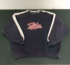 Vintage 90s FILA Crewneck Sweatshirt Men's XL - Big Logo Navy BlueRed White
