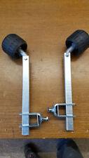 1 Paar Brenderup Bootstrailer Stützen,Stützrollen Sliprollen Basic 500,600 650