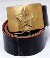 Russia Soviet USSR Uniform Belt Army Soldier Soviet Military #8291