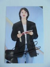 Suzy Bae Miss A 4x6 Photo Korean Actress KPOP autograph signed USA Seller A12