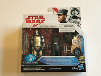 Star Wars: The Last Jedi - Finn (First Order Disguise) & Captain Phasma - Sealed