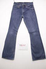 Levis 516 flare bootcut boyfriend jeans usato (Cod.U611) Tg.43 W29 L34 uomo