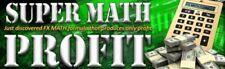 FOREX SUPER MATH PROFIT THAT PRODUCES ONLY PROFIT