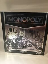 """MONOPOLY Silver Line Edition Game By Hasbro Gaming  """"Just Reduced """""""
