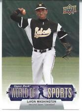 2011 Upper Deck World Of Sports LeVON WASHINGTON #9