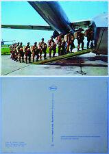 """Cartolina Postale """"PARA' PRONTI ALL'IMBARCO - FOLGORE""""- Anni '70/'80 (Originale)"""