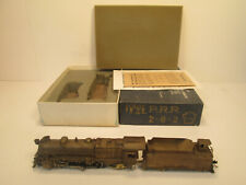 PFM UNITED PRR PENNSYLVANIA RAILROAD 2-8-2 BRASS LOCOMOTIVE - NICE