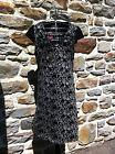 DESIGUAL Robe Noire, Vestido Negro, Black Dress.Taille / Size 40 - VINTAGE