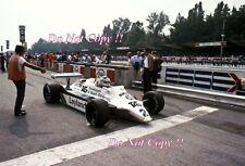 CARLOS REUTEMANN Williams FW07C ITALIANO Grand Prix 1981 fotografia 2