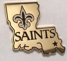 """New Orleans Saints  NFL 1"""" metal Lapel Pin"""