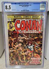 Conan the Barbarian #24 (1973) CGC 8.5 - 1st Full Red Sonja Marvel Comics Key