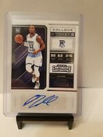 2018 Panini Contenders Draft Picks College Ticket Jared Terrell #99 Rookie Auto
