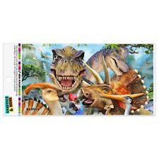 Dinosaur Jurassic Selfie T-Rex Triceratops Brontosaurus Pterodactyl Car Magnet