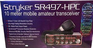 Stryker SR-497HPC (SR497HPC)10 Meter Amateur Ham Mobile Radio AM FM  NEW
