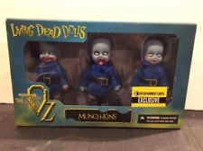 Mezco - Living Dead Dolls - The Lost in Oz Munch-Kins - Ee Exclusive Set Mib