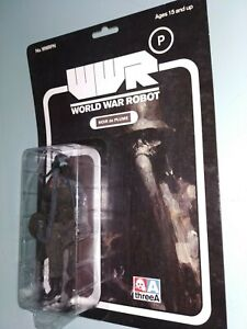 ThreeA 3A NOIR de PLUME 1/12 figure Ashley Wood MIB