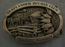 Used 1985 Flatlander Buckel Club Wichita Kansas, Sunflower, Cabin ,Horse, Plow