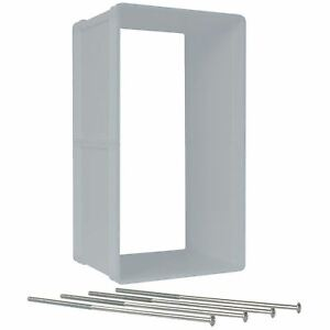 """Ideal Pet Products Ruff-Weather Wall Kit Small Grey 1.5"""" x 5.5"""" x 9.25"""""""