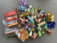 Gift Ribbon Bow Lot Vintage