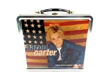 AARON CARTER Aaron's Party Tin Lunchbox Rare 2000 US Limited Edition Promo