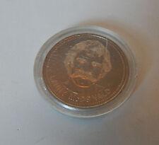 1982 dólar de Calgary Flames Token Lanny McDonald en caso de Perspex