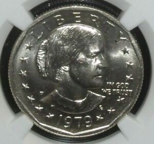 1979 P NGC MS 66 Susan B. Anthony Dollar (Narrow Rim)