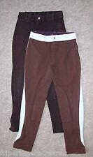 LOT de 2 Pantalons d'Equitation FOUGANZA, Taille 12 ans --- (LPE_190)